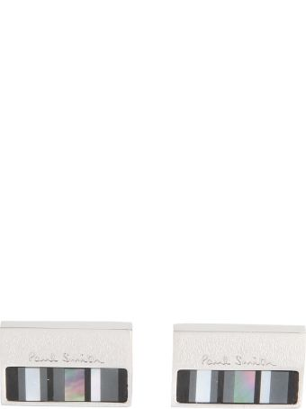 Paul Smith Cufflinks With Mother Of Pearl Plate