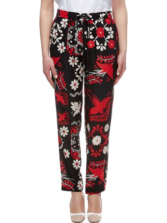 RED Valentino Printed Trousers