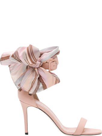 Pollini Kerchief Sandals