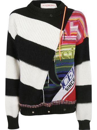 Iceberg Striped Sweater