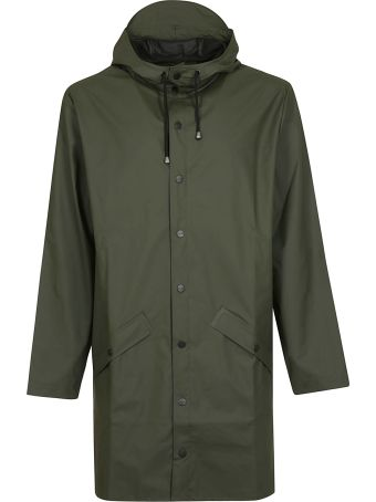 RAINS Button-up Raincoat
