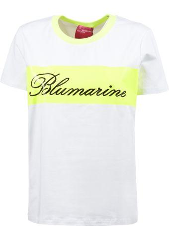 Blumarine Capsule Logo Print T-shirt