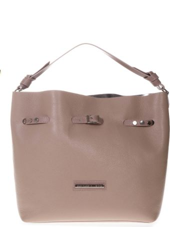Marc Ellis Concy Bucket Bag In Nude Leather