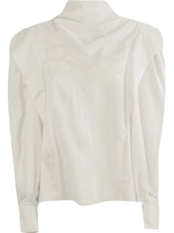 Isabel Marant Cream Silk Shirt