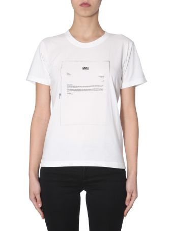 MM6 Maison Margiela Round Neck T-shirt