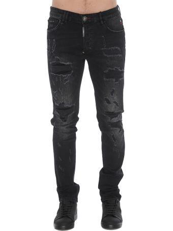 Philipp Plein Ripped Jeans