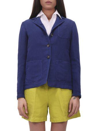 Massimo Alba Blue Baglietto Jacket