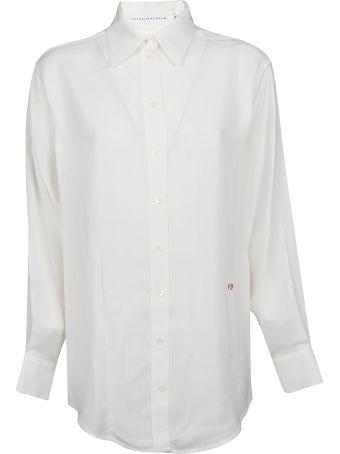 Victoria Beckham Slash Black Shirt
