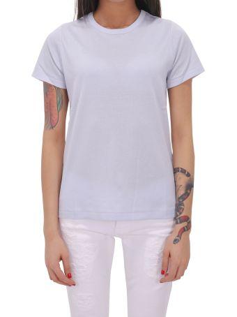 A.P.C. Light Blue Boat T-shirt