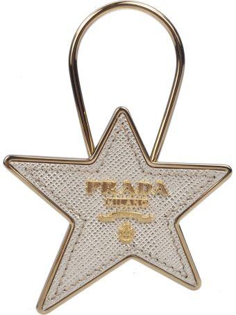 Prada Star Keyring