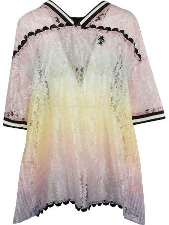 Marco de Vincenzo Floral Lace Dress