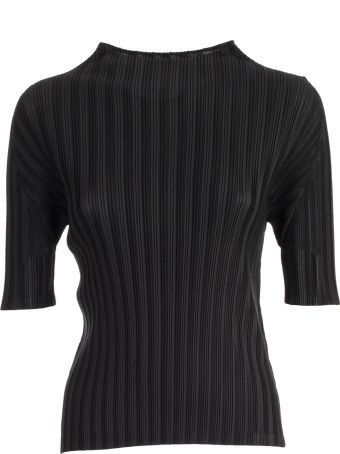 Pleats Please Issey Miyake Pleats Please By Issey Miyake Pleated T-shirt
