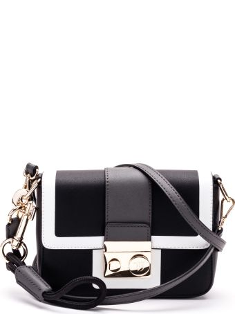 Trussardi Trussardi With Love Faux Leather Shoulder Bag