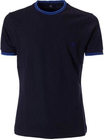 Fay Logo Embroidery T-shirt