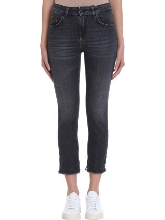 Mauro Grifoni Black Wash Denim Jeans