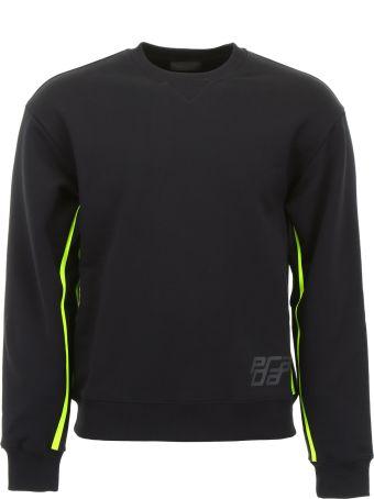 Prada Sweatshirt With Fluo Details