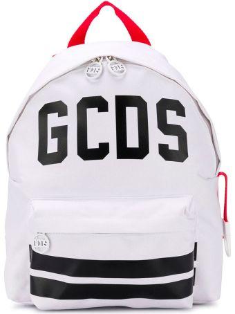 GCDS Mini White Backpack
