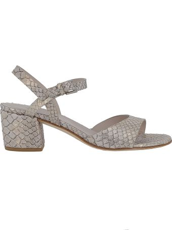 Roberto del Carlo Woman's Gold Leather Sandals