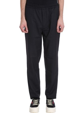 Danilo Paura x Kappa Grey Wool Trousers