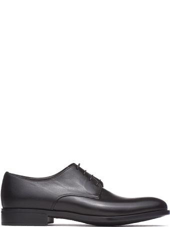 Moreschi Black Lace-up Shoes