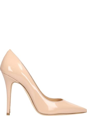 The Seller Pink Patent Leather Pumps