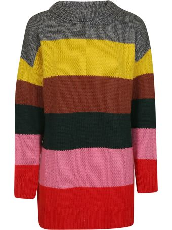 Essentiel Striped Knit Sweater
