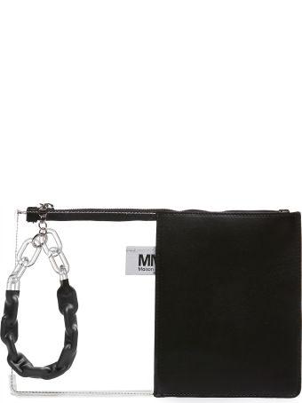 MM6 Maison Margiela Contrast Slim Clutch