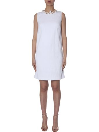 Boutique Moschino Shot-cotton Mini Dress
