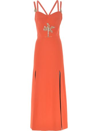 Fausto Puglisi Embellished Long Dress