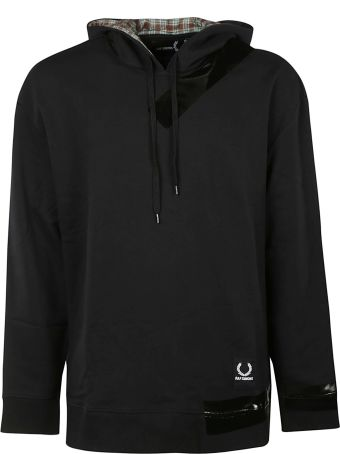 Fred Perry Raf Simons X Fred Perry Plaid Lined Hoodie