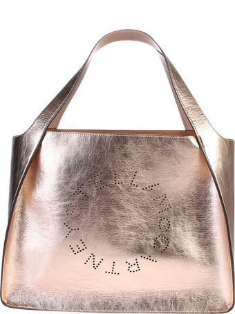 Stella McCartney Metallic Faux Leather Tote Bag