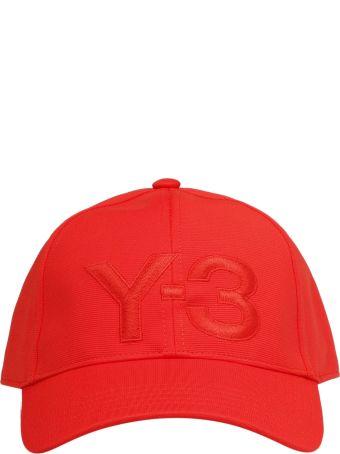 Y-3 Embroidered Logo Cap
