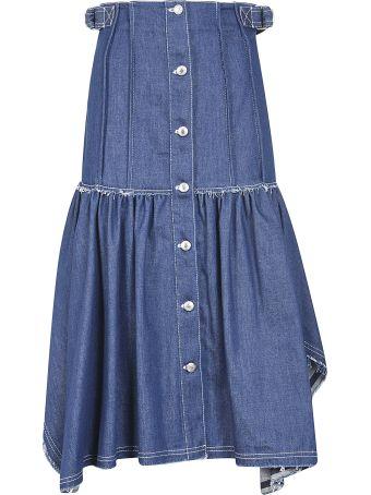 Chloé Buttoned Denim Dress