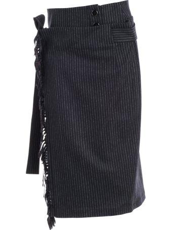 Eudon Choi Pinstripe Skirt