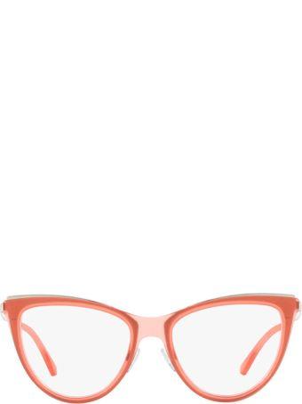 Emporio Armani Emporio Armani Ea1074 Matte Transparent Coral Glasses