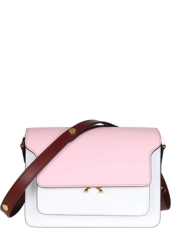 Marni Trunk Bag In Leather