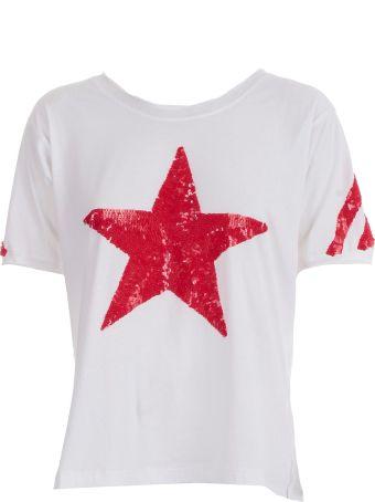Parosh T-shirt S/s Paillettes