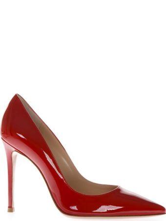 Gianvito Rossi Paris Red Patent Leather Pumps