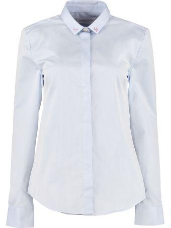 Maison Labiche Embroidered Cotton Shirt