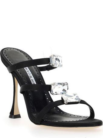 Manolo Blahnik Nudosa Sandals