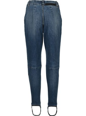 Ben Taverniti Unravel Project Unravel Laced Stirrup-hem Jeans