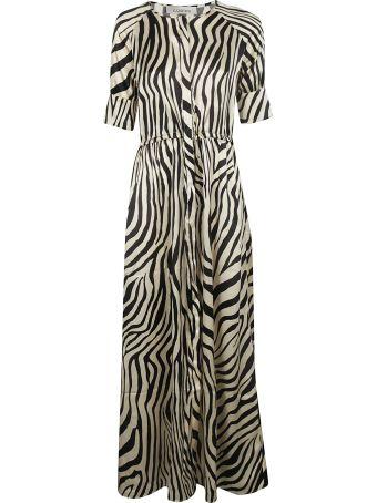 Laneus Printed Maxi Dress