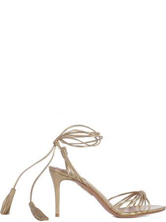 Aquazzura Ankle Tie Sandals