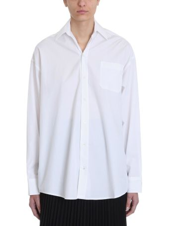 VETEMENTS White Cotton