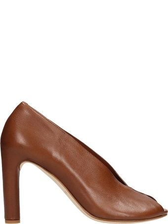 Roberto del Carlo Open Toe Pumps