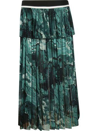 Victoria Beckham High Waist Flared Skirt