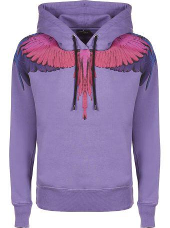 Marcelo Burlon Wings Print Classic Hoodie