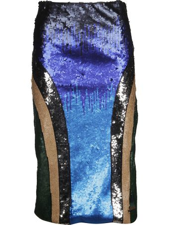 SportMax Sequin Embellished Skirt