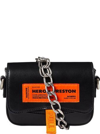 HERON PRESTON Label Mini Canal Bag