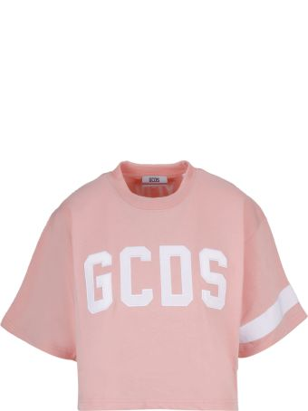GCDS Embroidered Logo T-shirt